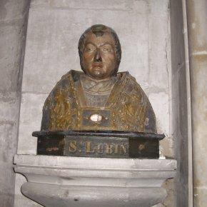 Święty Lubin, biskup i patron miastaChartres
